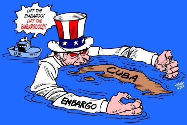 End the illegal US Blockade on Cuba!