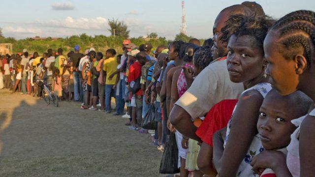 End US Sanctions on Haiti.