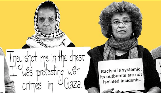 Rasmea Odeh and Angela Davis - African solidarity against Zionism