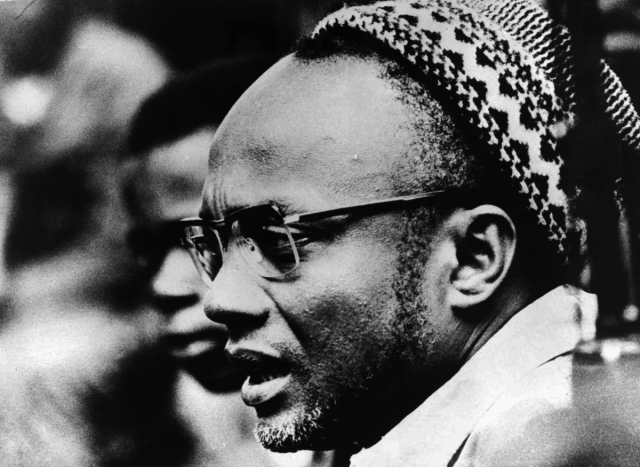 A picture of PAIGC leader, Amilcar Cabral