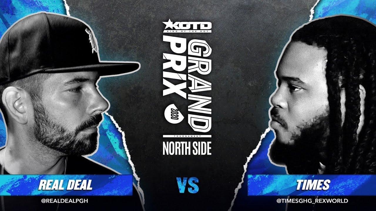 KOTD - Rap Battle - Real Deal vs Times | #GP2020