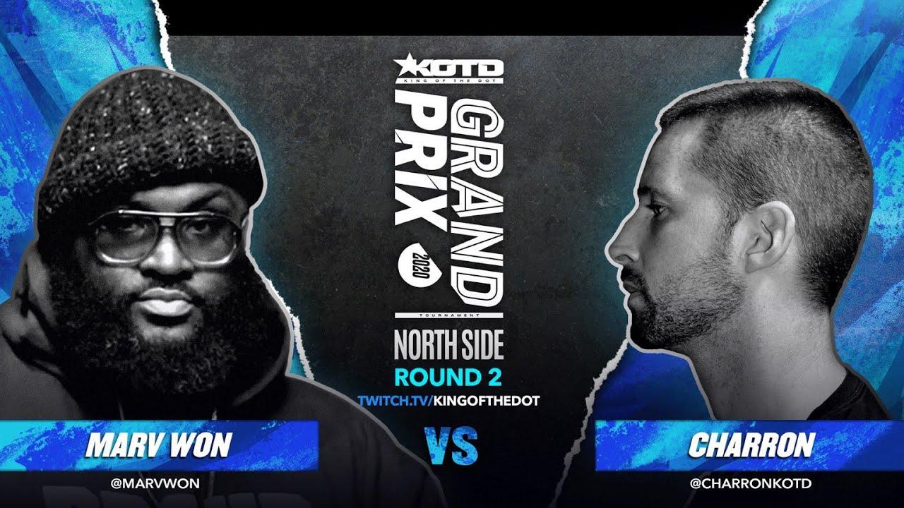 KOTD - Rap Battle - Charron vs Marv Won | #GP2020 R2