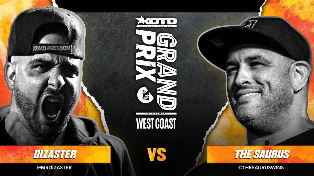 KOTD - Rap Battle - Dizaster vs The Saurus II | #GP2020 R2