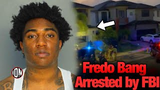 Fredo Bang Arrested By FBI (Footage of House Raid & Arrest)