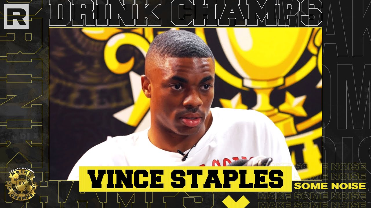 Vince Staples On Mac Miller, 2Pac, Growing Up In Long Beach, New Album & More | Drink Champs