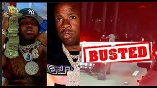 Yo Gotti & Est Gee Arrested Cops Pull Out AK47 Leaving Rolling Loud Florida