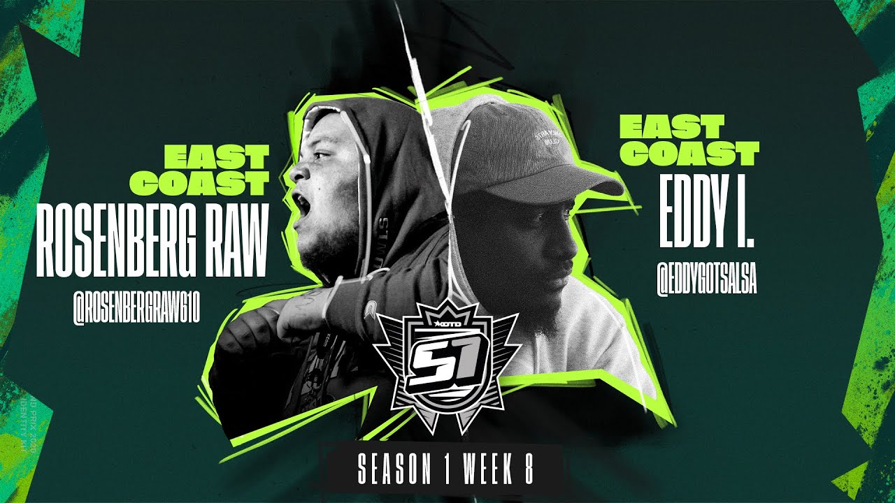 KOTD - Rap Battle - Rosenberg Raw vs Eddy I. | S1W8