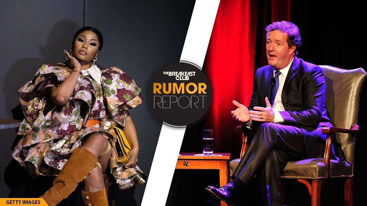 Nicki Minaj & Piers Morgan Trade Shots After Rapper's Controversial Met Gala Vaccine Comments
