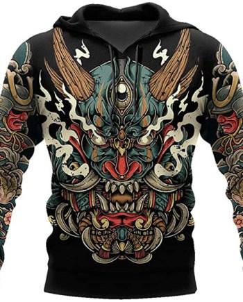 Samurai Tattoo Hoodie