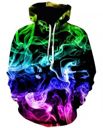 Smoke hoodie (rainbow)