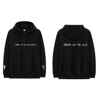 "Billie Eilish ""WHEN WE ALL FALL ASLEEP"" Hoodie"