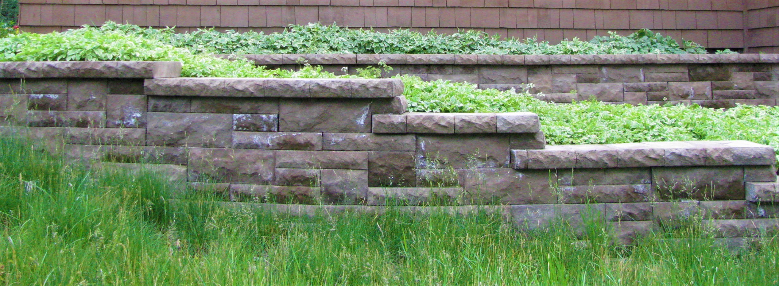retaining wall by landscaping company in silverthorne colorado