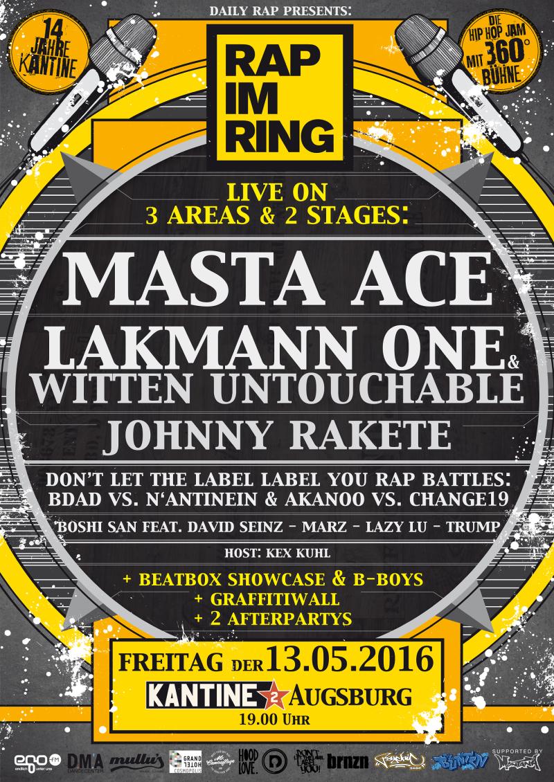 Rap im Ring 2016 Plakat A1 final klein