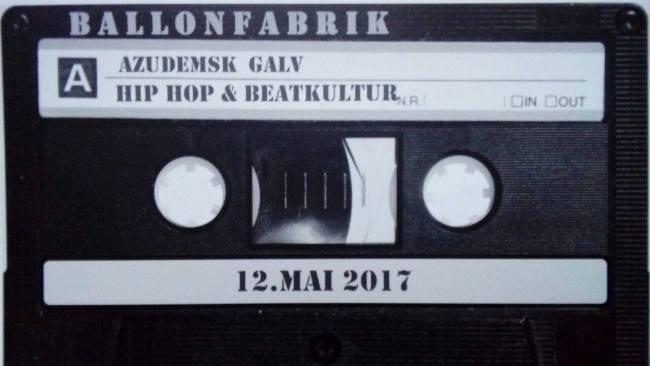 Hip Hop & Beatkultur mit Galv of the 3 Moonz & AzudemSK // 12.05.2017 // Ballonfabrik Augsburg