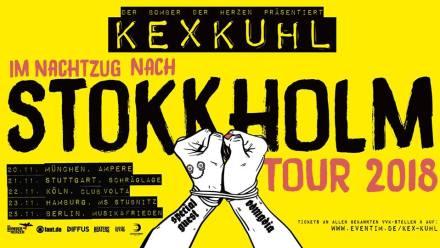 Kex Kuhl – Im Nachtzug nach Stokkholm Tour 2018