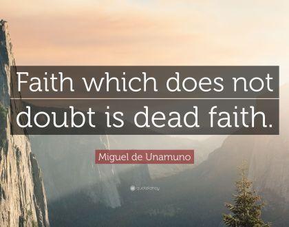 Faith & Doubt