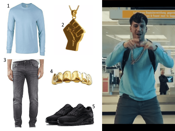 Ufo361 Outfit