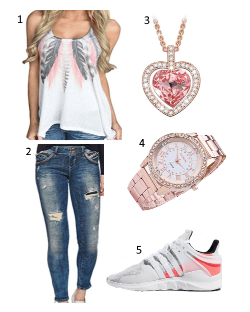 Casual Sommer Damen Outfit