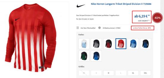 nike striped sweater sale