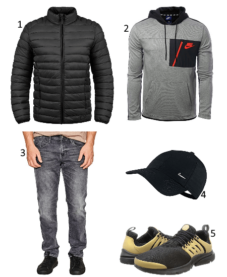 1 Nike Outfit für Winter