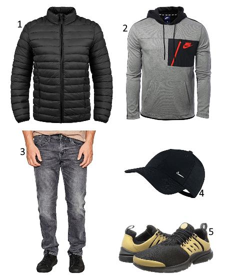 1 Nike Outfit für Winter