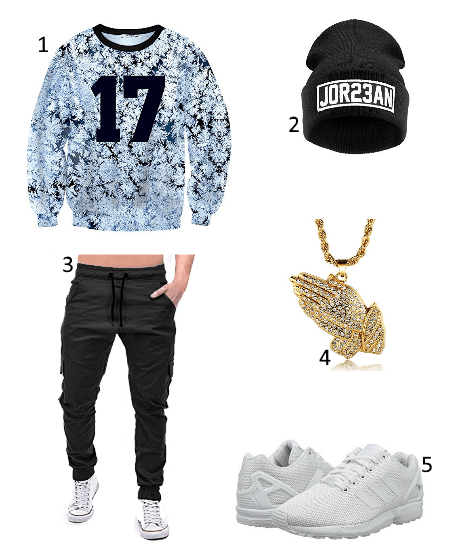 Cooles Hip Hop Outfit
