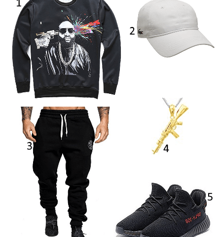 Gangster Style Outfit