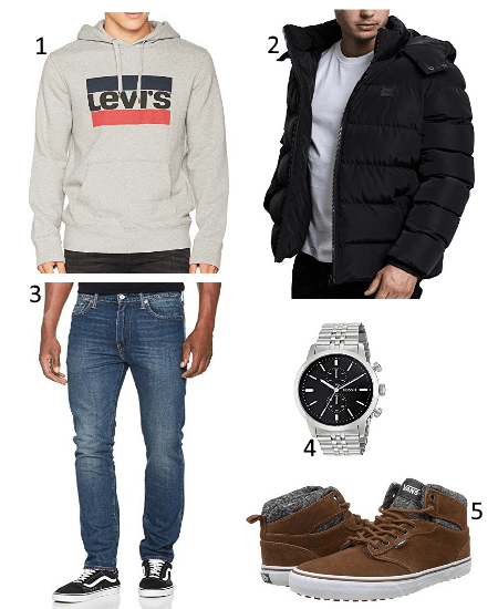 Levis Winter Outfit