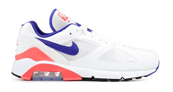 Nike Herren Air Max 180 Gymnastikschuhe, Elfenbein (White Ultramarine Solar Red 100), 43 EU