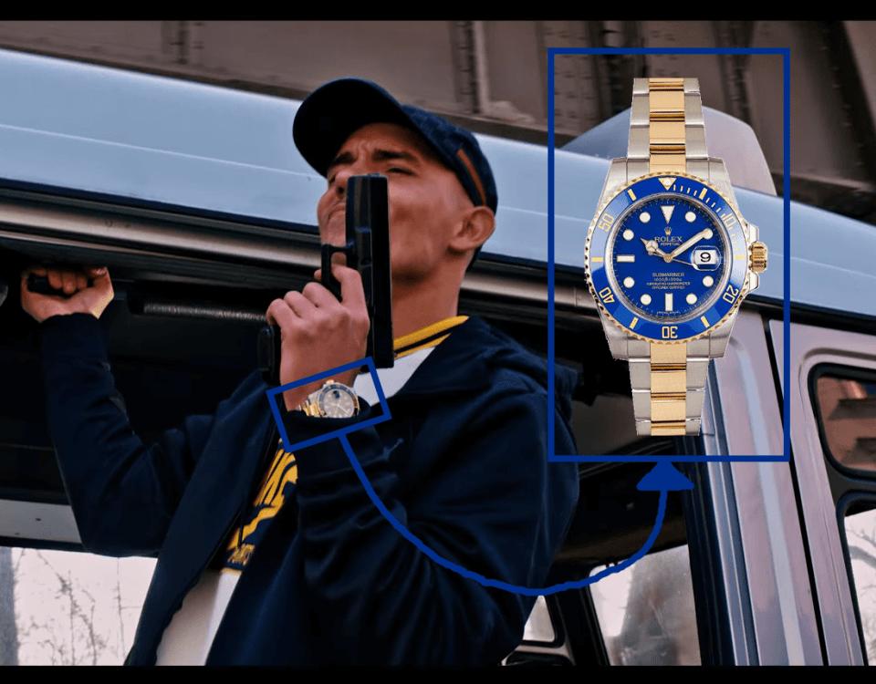 Capital Bra Armband Uhr Rolex