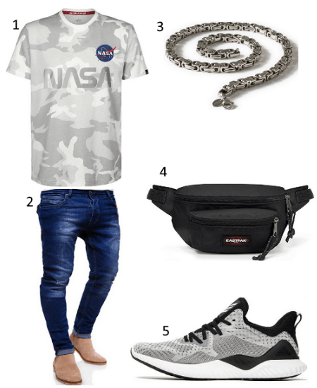 NASA Reflective Outfit