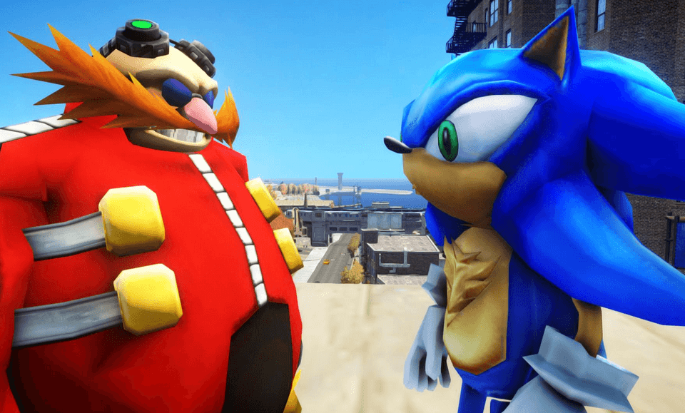 Puma Sega Sneaker Sonic Dr.Eggman