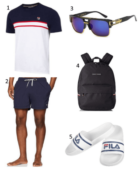 Schwimmbad Outfit