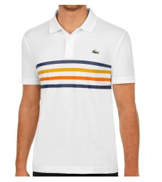 Lacoste Ribbed Collar Polo Herren