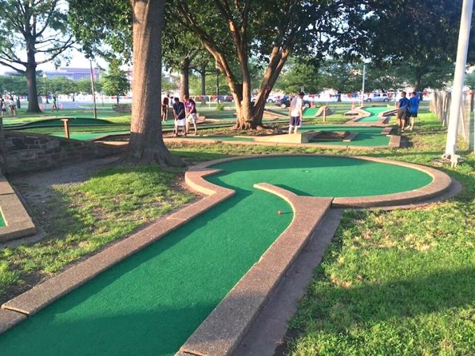 Secretly Awesome  America s Oldest Mini Golf Course Is In D C      East potomac 1
