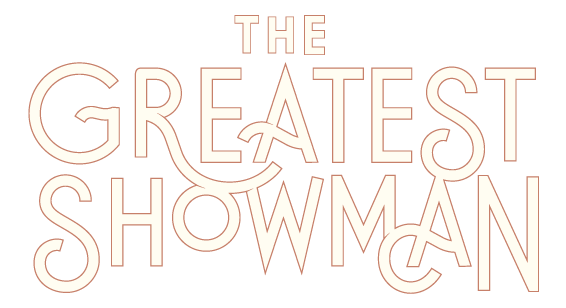the greatest showman movie logo hoodzpah design