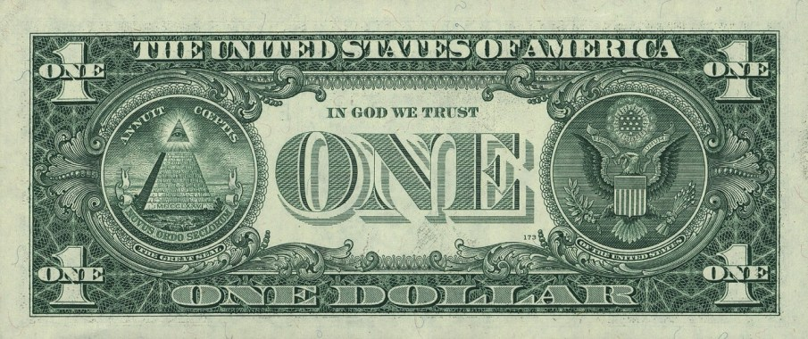We have Latin words on our money. Do they have English words on money in Latin America? Probably not.