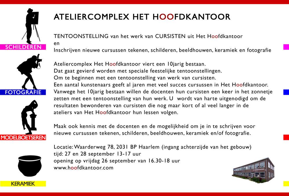 Ateliercomplex Het Hoofdkantoor   Waarderweg 78   2031BP Haarlem
