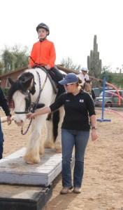 Trail & Sensory Clinic for Adaptive Students- Photo Credit Horses Help