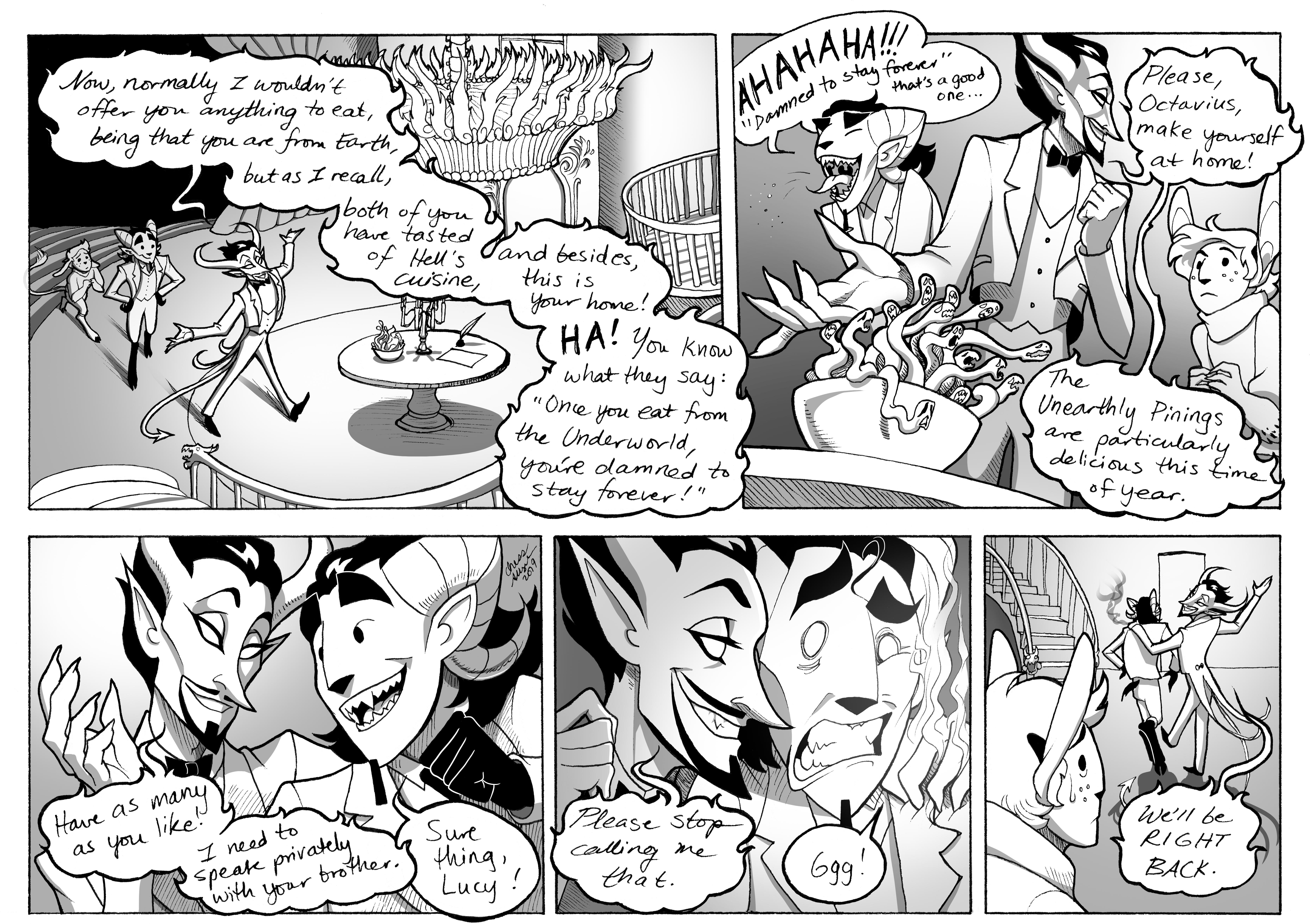 #108: Hell's Cuisine