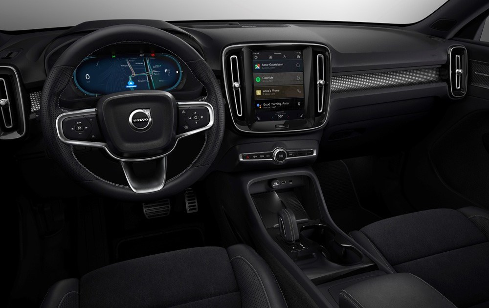 259313 Fully Electric Volvo Xc40 Introduces Brand New Infotainment System