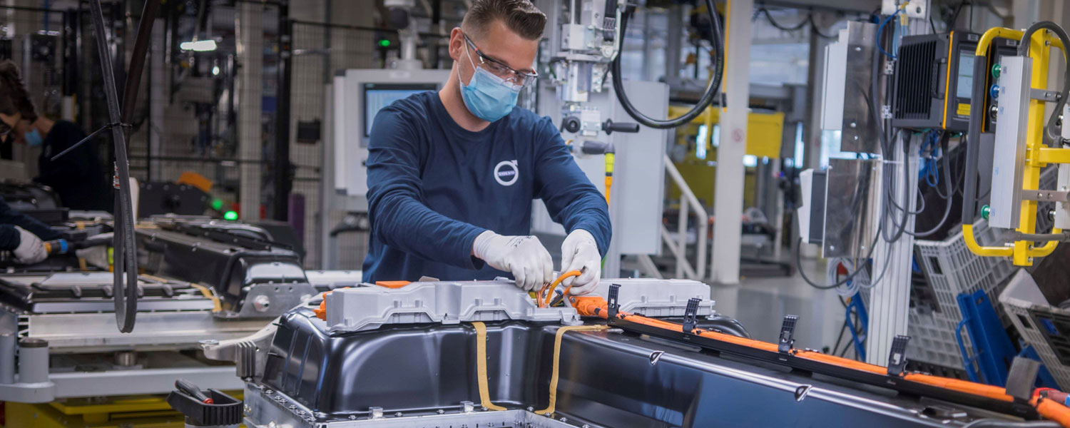 Volvo Battery Assembly Ghent