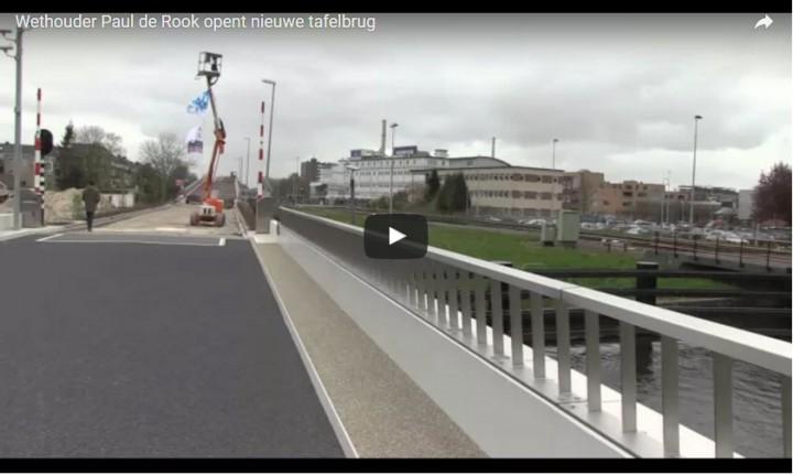 Opening brug - Paul de Rook