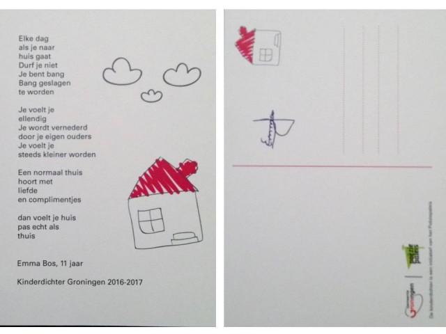 postkaart-gedicht