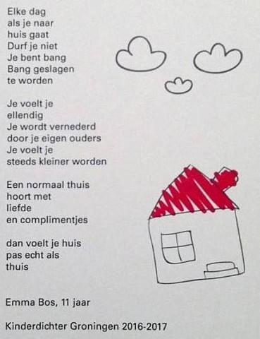 kinderdichter emma bos gravenburg en haar nieuwe gedicht
