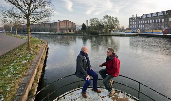 Martin Bos & Martijn Schuitemaker over Historische Haven Hoogkerk