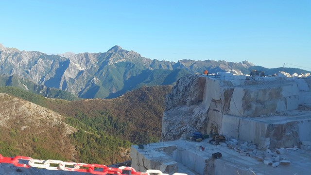 Marmergroeve in Carrara