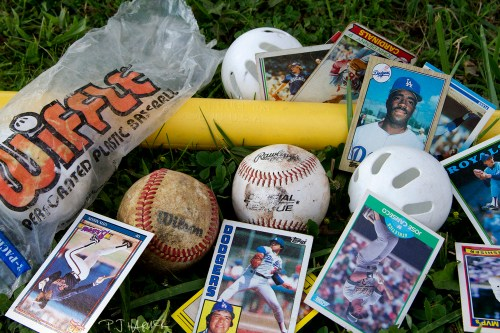 My childhood was filled with a lot of baseball things.
