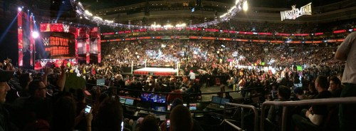 The Rumble from our seats.
