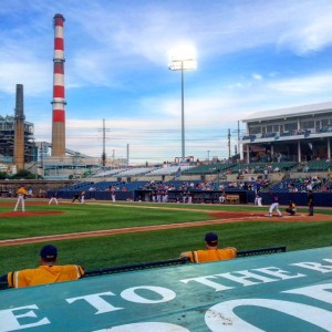 Atlantic League stadiums, such as Bridgeport, have been cool to see this season.